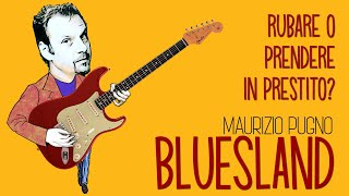 Maurizio Pugno - BLUESLAND: rubare o prendere in prestito?