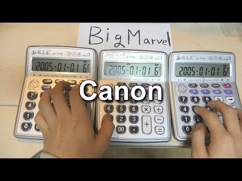 Canon Rock - Calculator Cover