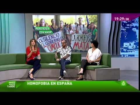 Homofobia en España (ranking top de homófobos)