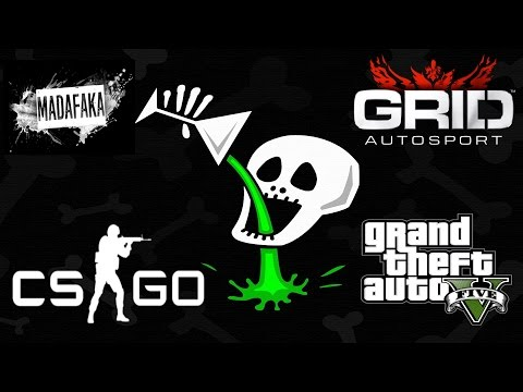 "AMEDDIG BÍROM!!! ""BEBASZÓS"" LIVE!!! // GRID Autosport, CS GO & GTA V"