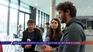 Yvelines | Des journées portes ouvertes à l'U.F.R. de santé sur fond de réforme