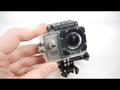 SJ4000 HD Action Camera Review - All the mounts - half the p