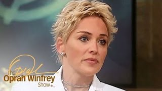 "Sharon Stone on Her Near-Death Experience: ""I Felt Peaceful"" 