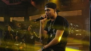 J.Cole - Live On Letterman (Live Full Performance)