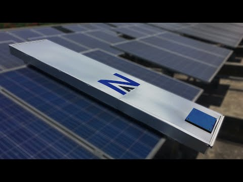 Solar Panel Cleaning Robot by Nikola Automation   SPCR-1