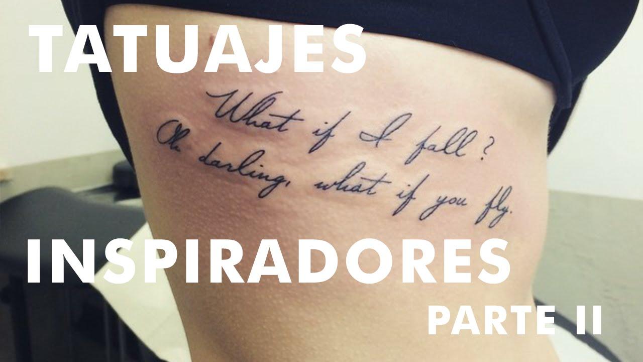 Pequeños Tatuajes De Frases Inspiradoras Parte Ii Youtube