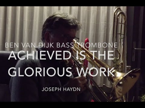 "Ben van Dijk - basstrombone ""Creation no:26"" Haydn"