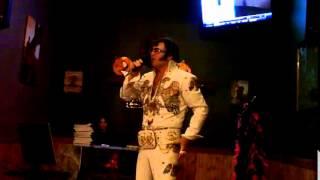 """Jim """"Gospel Elvis"""" Anderson sings Elvis Presley """"Teddy Bear"""" at Halloween karaoke show in Sudbury"""