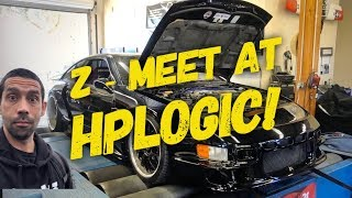 Z CAR MEET AND TUNING AT HP LOGIC!