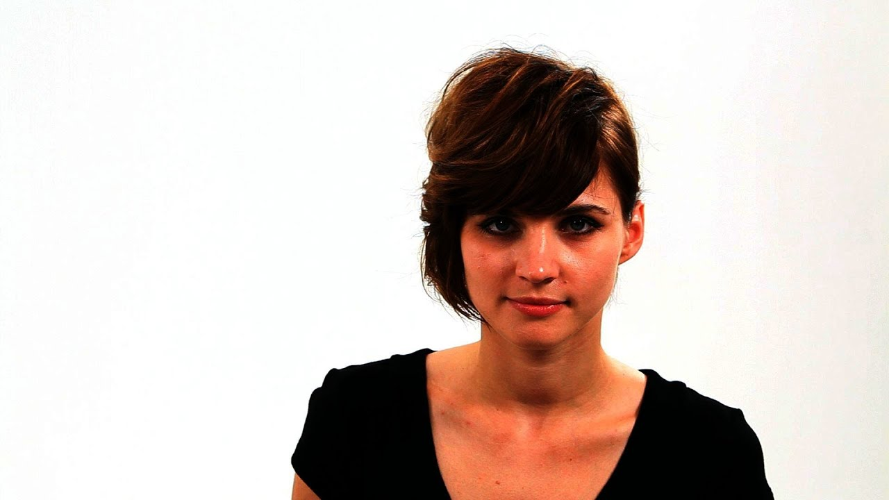 Short blunt bob hairstyle with bangs short hairstyles - Bob Hairstyle With Side Bangs Part 1 Short Hairstyles