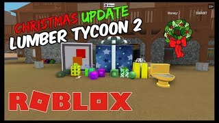 Opening Presents on Christmas Morning! Roblox Lumber Tycoon 2 CHRISTMAS UPDATE 2017