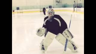 Michael Hutchinson, Winnipeg Jets - Training Summer 2014