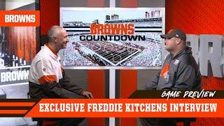 Freddie Kitchens on Bye Week Prep for Patriots Showdown | Browns Countdown