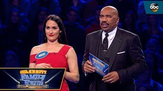 Team Bella Fast Money - Celebrity Family Feud