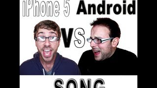 iPhone 5 VS Droid SONG (iPhone version) - Peter Hollens