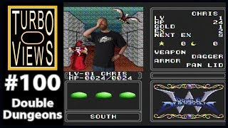 """Double Dungeons"" - Turbo Views #100 (TurboGrafx-16 / Duo/ Wii game REVIEW!)"
