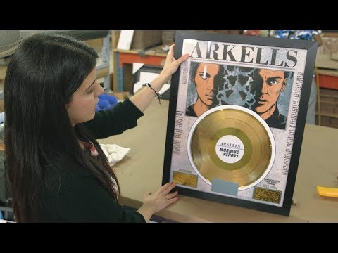 Gold/Platinum Canada: The Making of a Canadian Gold Record Plaque
