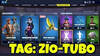 FORTNITE SHOP today April 11th skin LUPO OF MARE, BUCANIERE and new pickaxe PICCA BANANITA