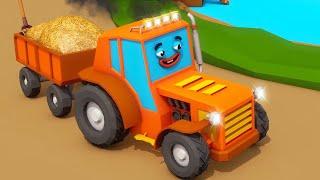 Tractor TOM und Freunde Neue Folgen! Wie Autos zur Reparatur...