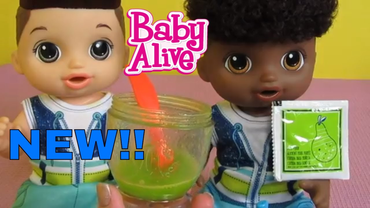 New Baby Alive Sweet Spoonfulls Boy Doll Unboxing From