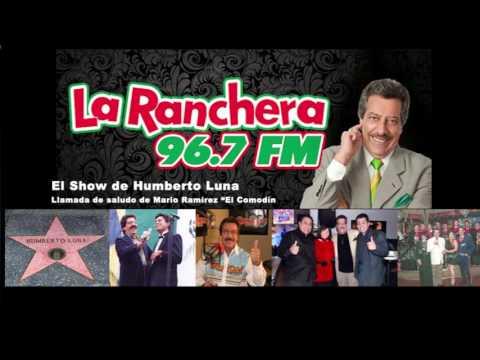 Humberto Luna cotorrea con Mario Ramírez en La Ranchera 96.7 FM