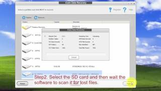SD card blank or has unsupported file system