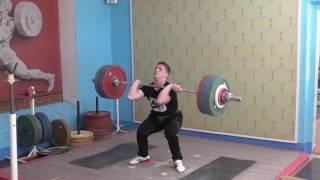 Семён Штанько, 17 лет, вк 77  Тренировка Толчок 150 кг