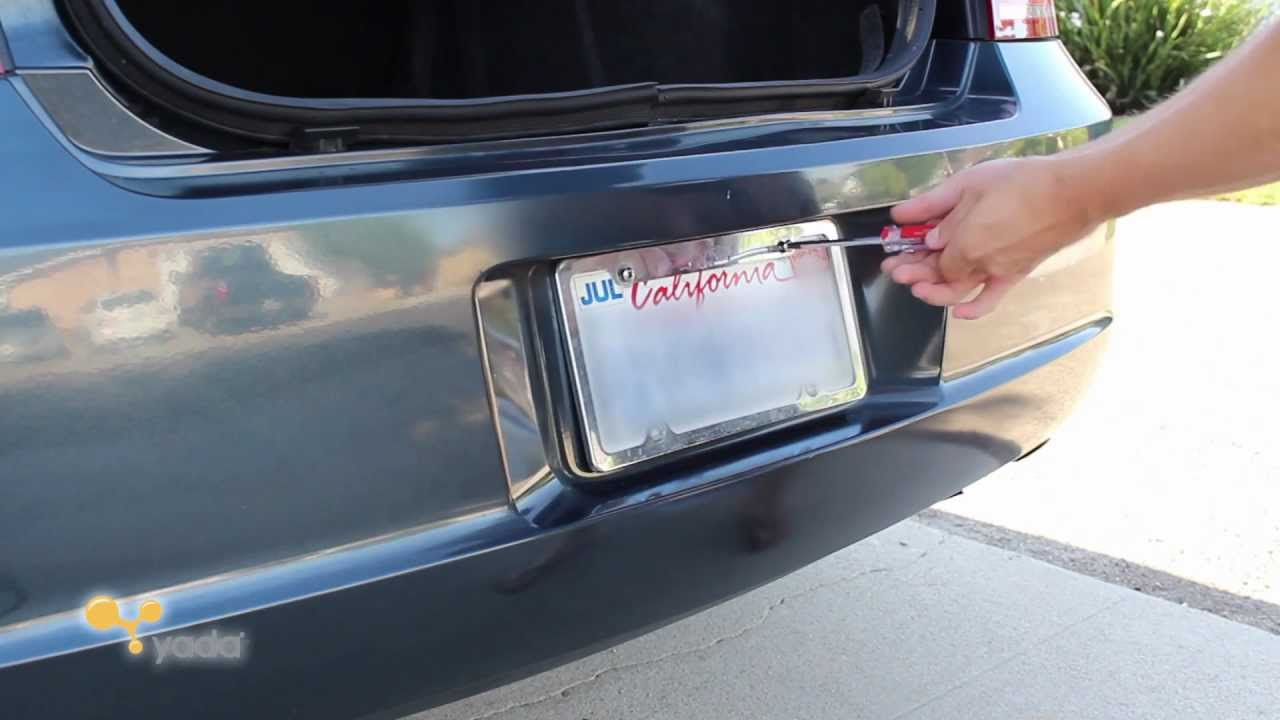 Yada Back Up Camera Installation - Dodge Charger - YouTube