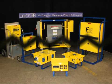 Ericson Portable Power Distribution Panels Youtube