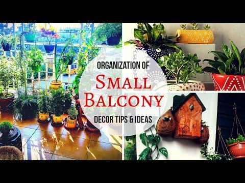 Amazing Small Balcony Garden Decoration Tips and  Ideas / Beautiful Balcony Makeover Ideas
