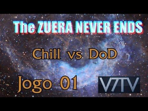 [LoL - Campeonato] Zuera Never Ends Chill VS DoD md1
