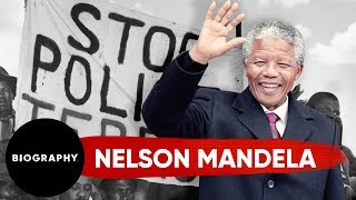 Biography: Nelson Mandela Mini Bio thumbnail