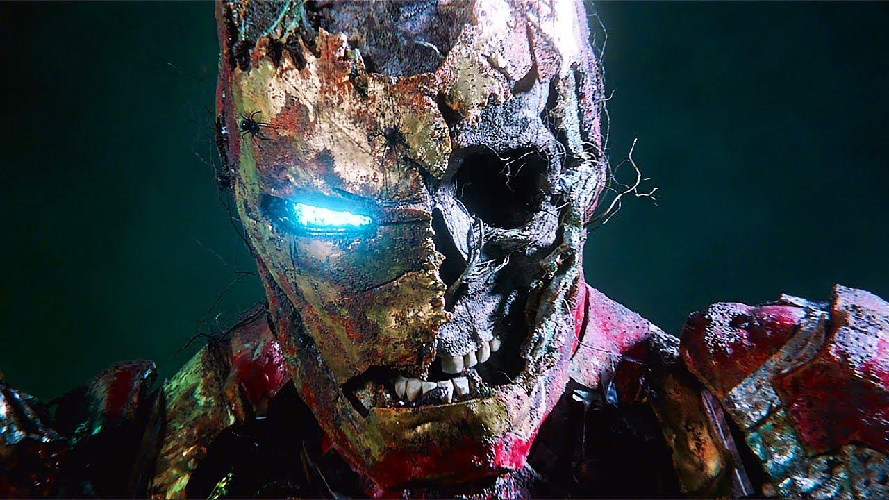 Zombie Iron Man - Mysterio Illusion Scene - Spider-Man: Far From Home (2019) Movie CLIP HD