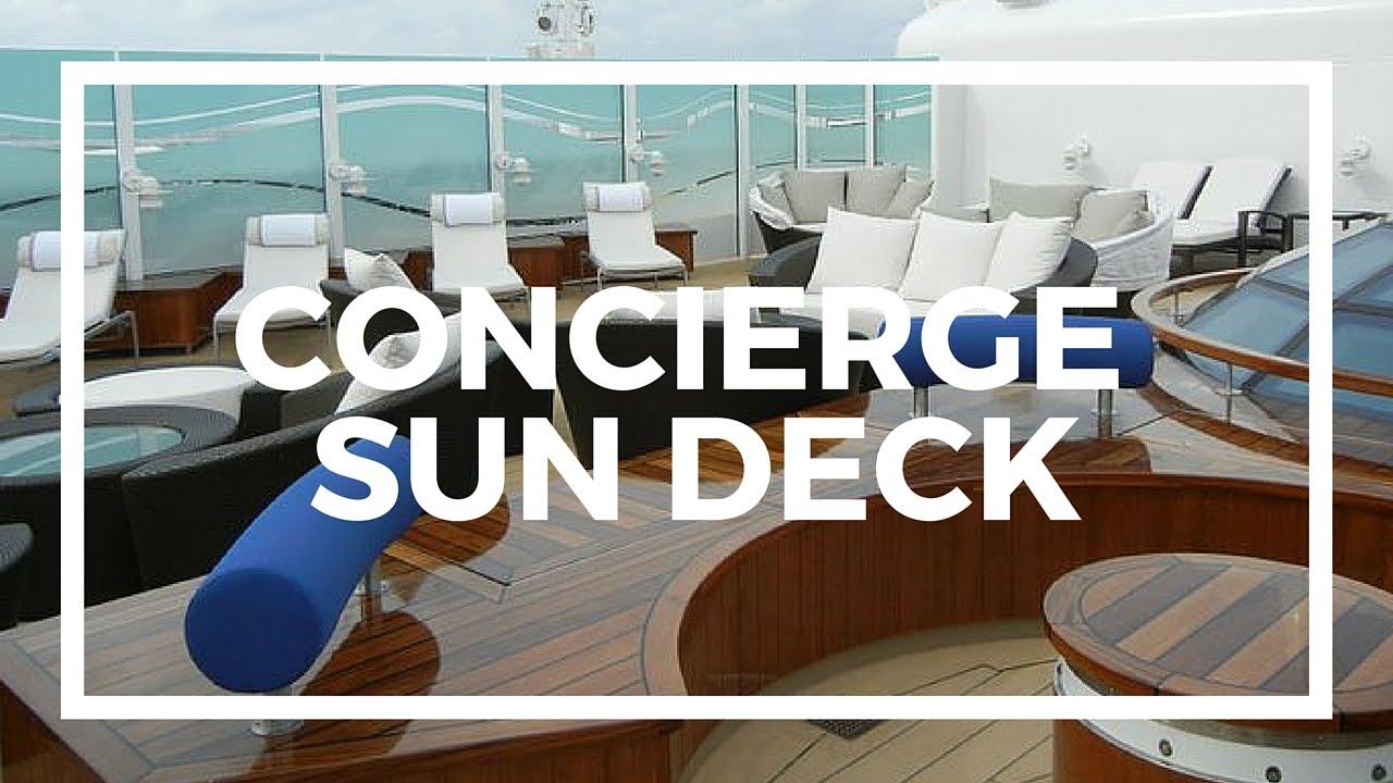 Disney Dream Cruise Ship Concierge Lounge And Sundeck