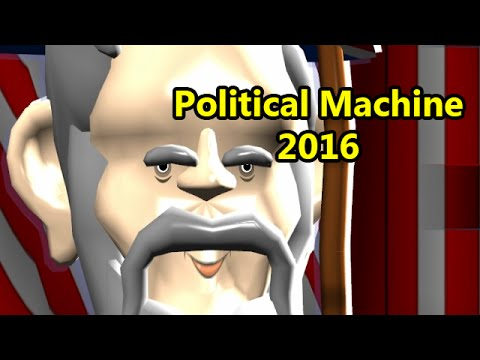 Political Machine 2016 with Cox n Crendor: Wizard Reagan