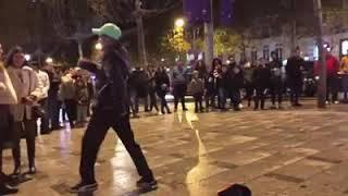 رقص مصري في شوارع باريس موحا المصري  شقلطوني في بحر بيره