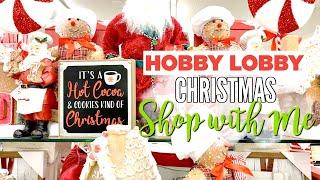 CHRISTMAS DECOR SHOP WITH ME // HOBBY LOBBY CHRISTMAS 2019