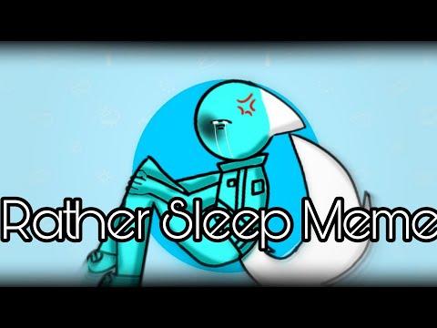 Rather Sleep | Animation Meme | Among Us