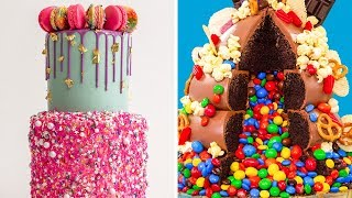 These Cakes Almost EXPLODE! Surprise Inside! | How To Cake It Step By Step