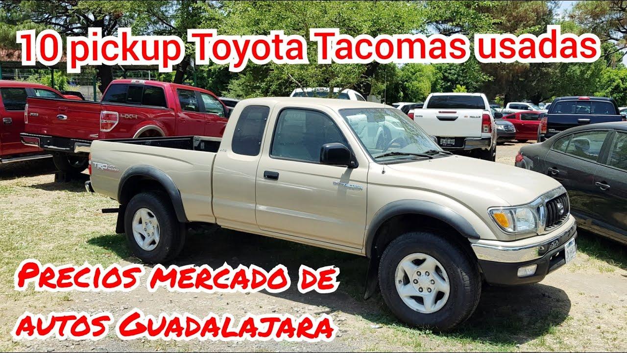10 camionetas usadas Toyota Tacoma camionetas en venta tianguis de autos usados pickup  trucks 4x4
