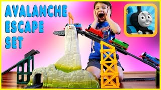 Thomas & Friends Avalanche Escape Set Thomas the Train Accidents Happen Kids Playing Kids Play Toys