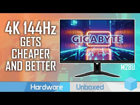 Gigabyte M28U Review, Awesome Value 4K 144Hz for Gaming
