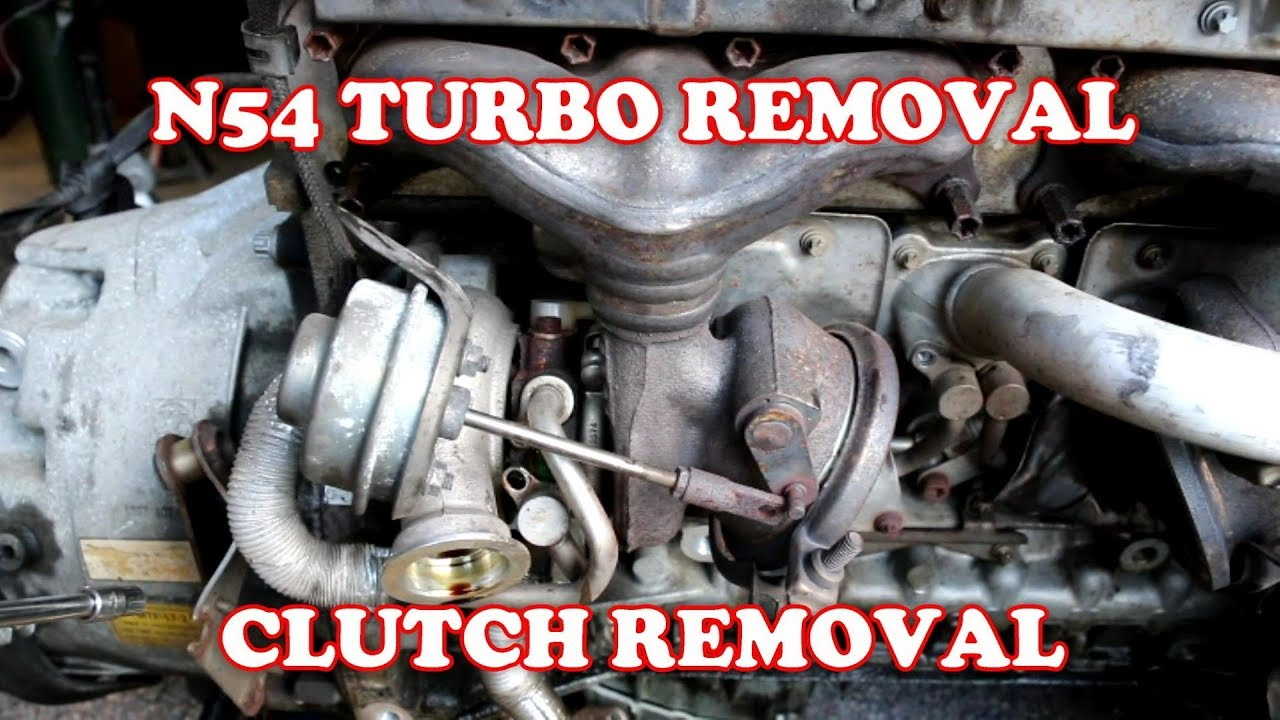 N54 TURBO REMOVAL | EPISODE 3 | CLUTCH REMOVAL