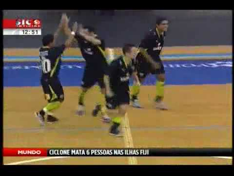 Futsal :: 15J :: SL Olivais - 4 x Sporting - 5 de 2007/2008