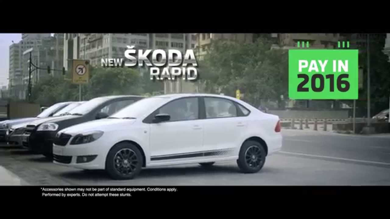 new skoda rapid tvc buy in 2014 and pay in 2016 youtube. Black Bedroom Furniture Sets. Home Design Ideas