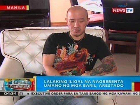BP: Lalaking iligal na nagbebenta umano ng mga baril, arestado sa Maynila