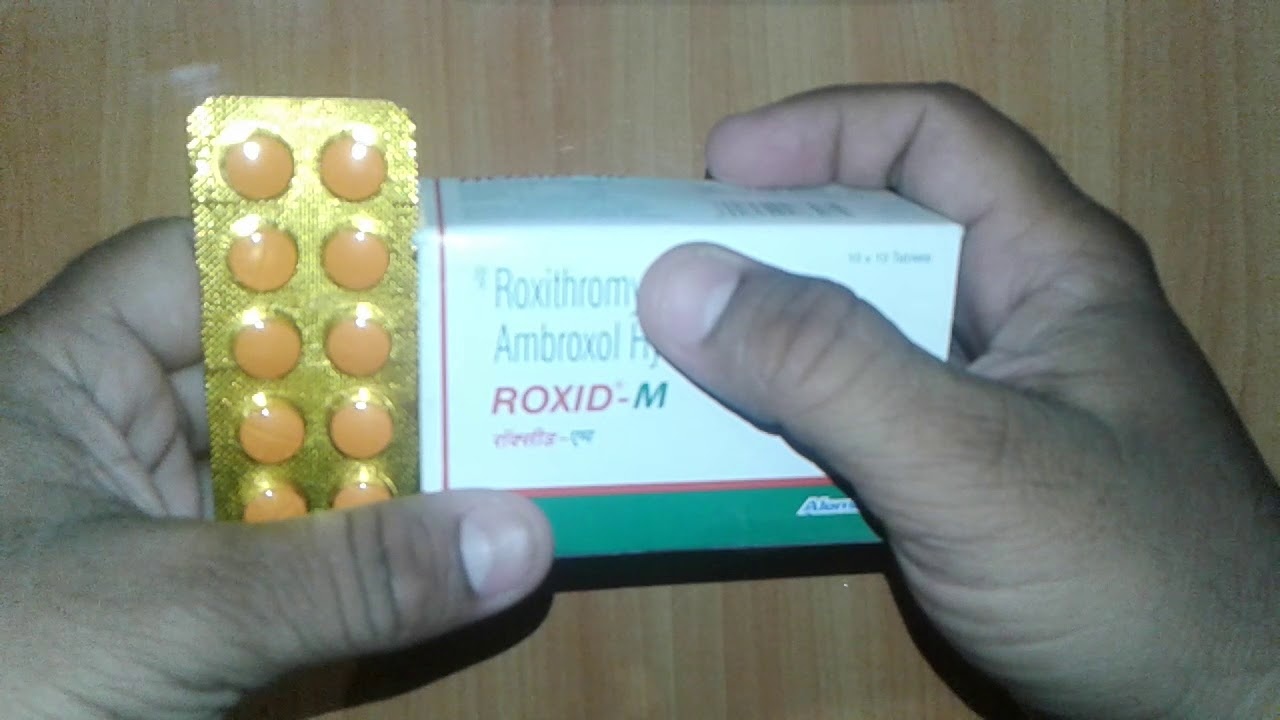 Download ROXID M Tablets review Effective Medicine For Respiratory Tract Infection