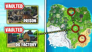 Top 10 VAULTED Fortnite Locations WE WANT BACK!