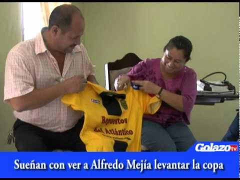 Sueñan con ver a Alfredo Mejía levantar la copa