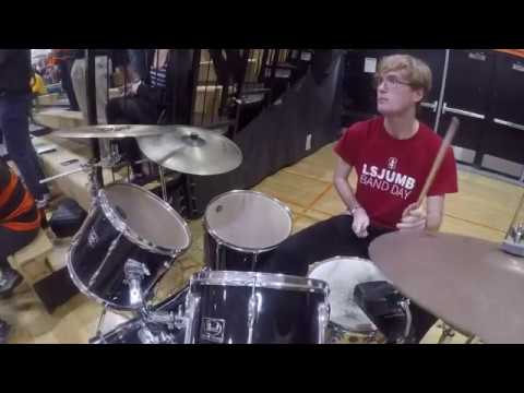 Escaping Drums - Half Moon Bay High School Marching Band (Drum Cam)